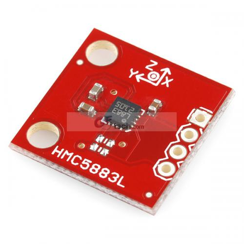 3 Axis Breakout HMC5883L and 3-Axis Digital Gyro ITG3205