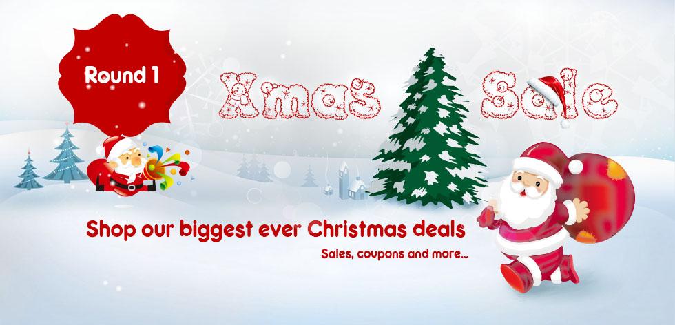 Christmas sale starts now!