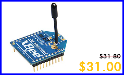 Wednesday(XBee 1mW Wire Antenna multipoint-Series 1)