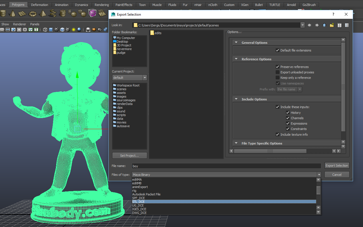 How to correctly export, repair your 3D models in  STL and  OBJ