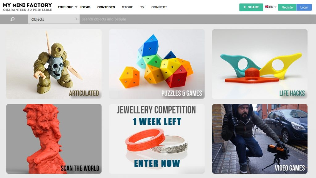 Image result for myminifactory site
