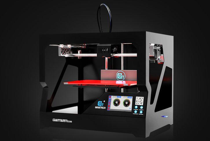 Introducing GiantArm D200 cloud 3D printer-part 1 Printing Precision