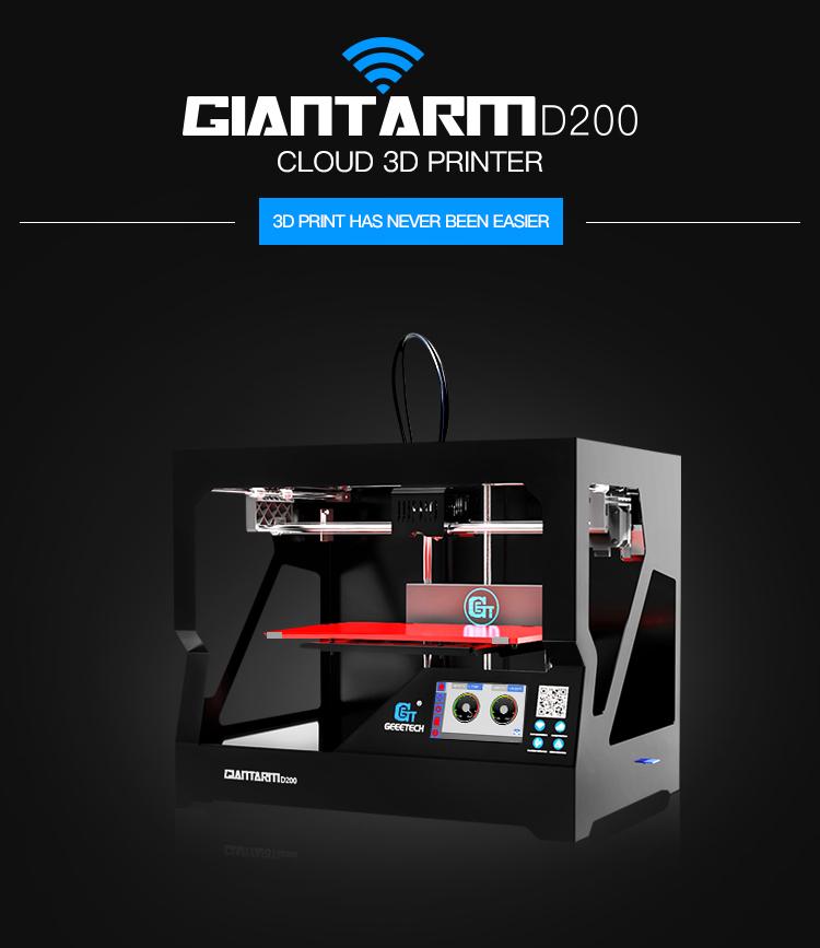 GiantArm D200 3d printer