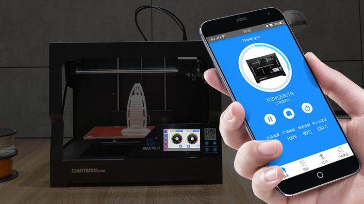 Introducing GiantArm D200 cloud 3D printer-part 2 Smart 3D printing Solution