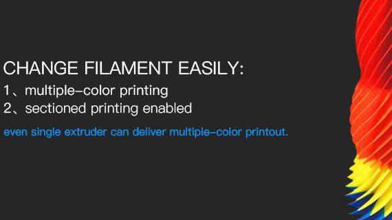 Introducing GiantArm D200 cloud 3D printer-part 4 Break-resuming capability