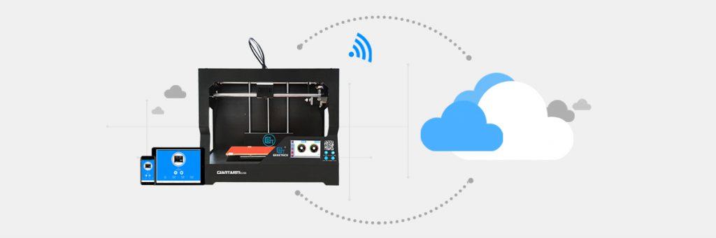 Introducing GiantArm D200 cloud 3D printer-part 6  Cloud 3D Print