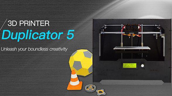 introducing Geeetech Duplicator 5 dual extruder DIY 3D printer