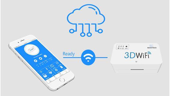 Geeetech 3D WiFi module — Wi-Fi enable you 3D printer