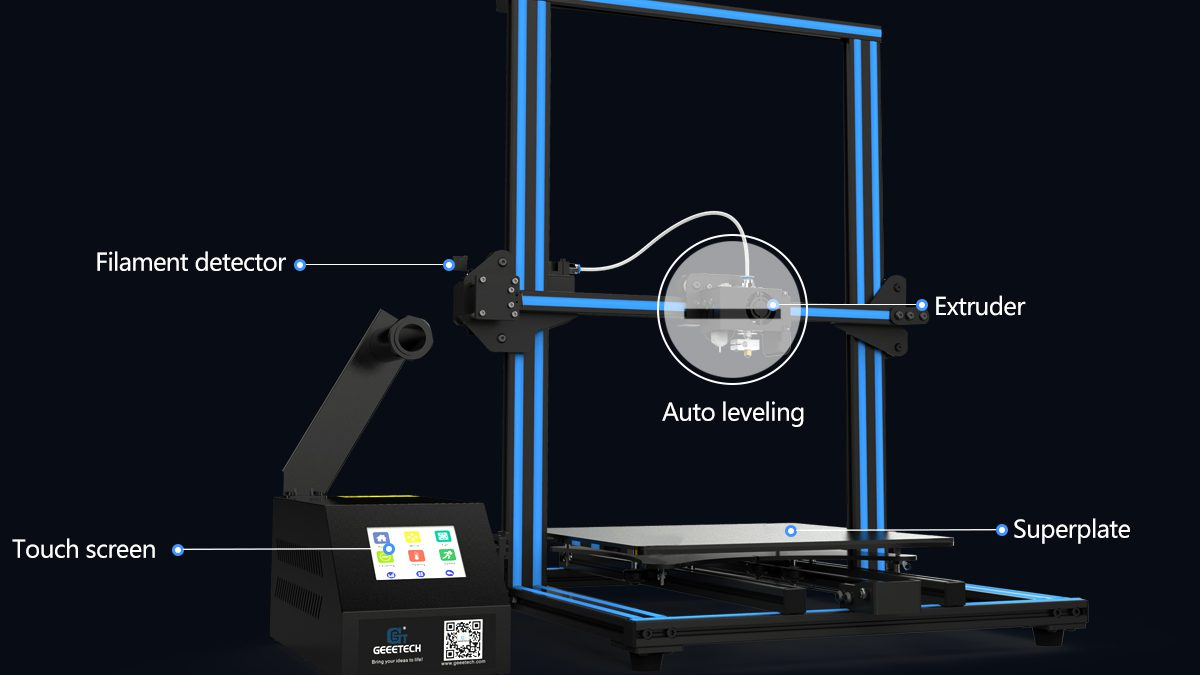 5 Amazing Features Of Geeetech A30 3D Printer where Bigger is Better-Part II