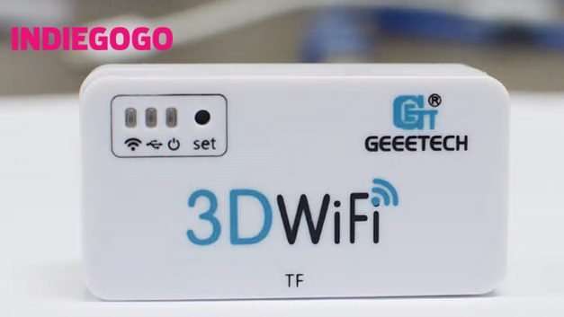 101% Founded on INDIEGOGO   Now make the most of your 3D WiFi Module only at $29.