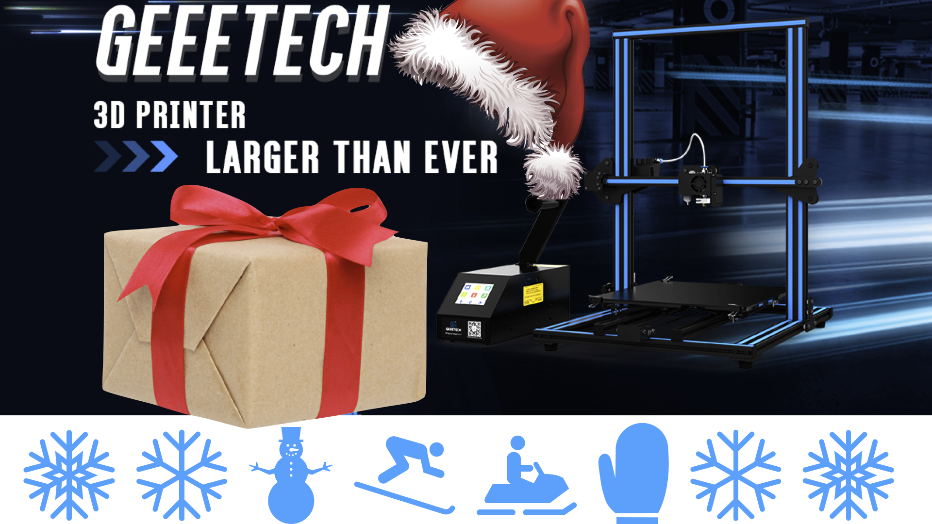 Best Geeetech 3D Printers and 3D Printer Accessories to Gift This Christmas 2017