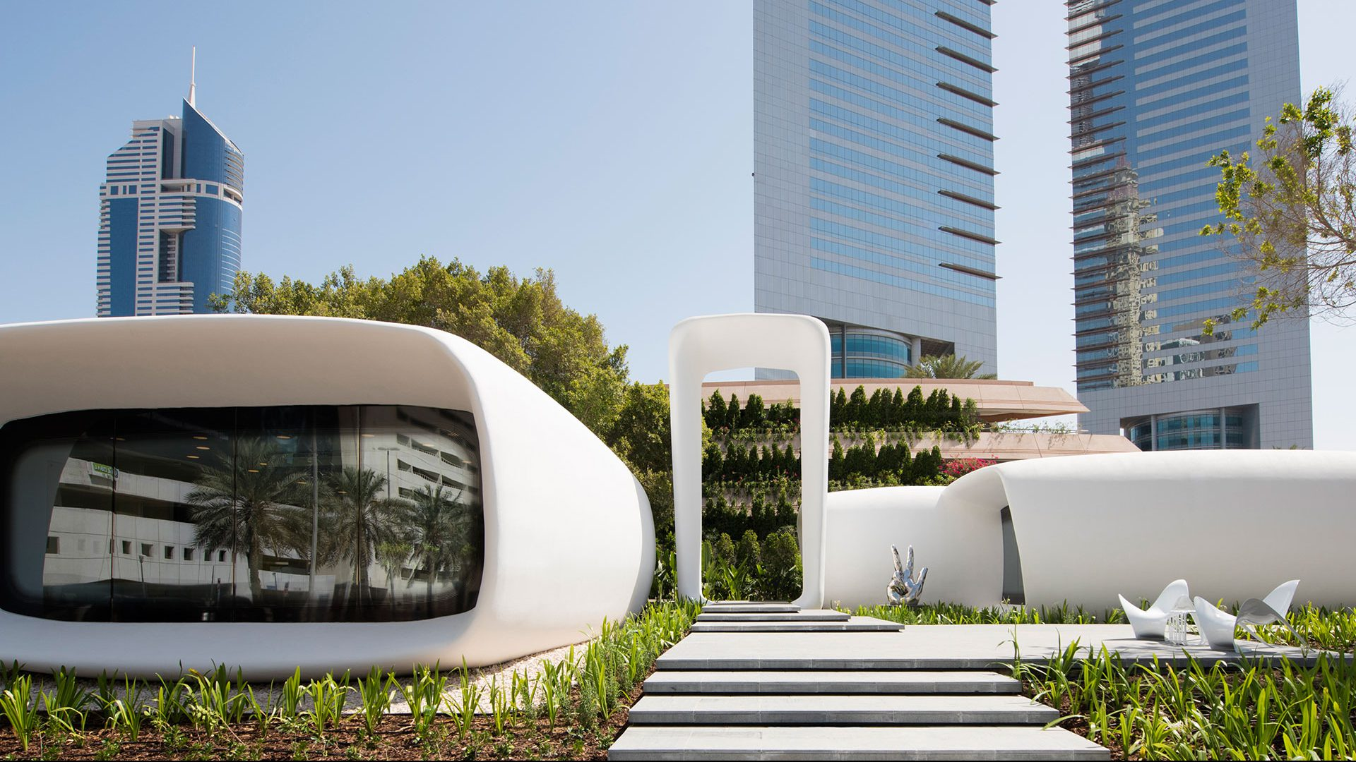 Check out these 3D Printed houses that everyone's talking about!
