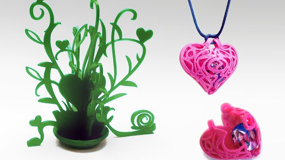 Amazing Ideas for 3D Printed Valentine's Day Gifts