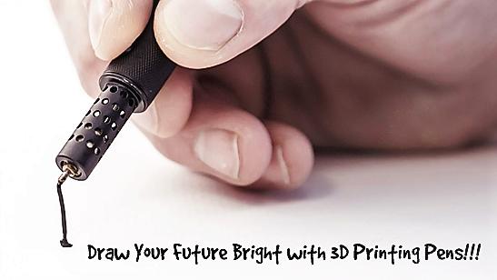 3D Printer Pens-Awaken Sleeping Artists Inside You
