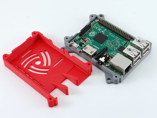 Raspberry pi 3d case download