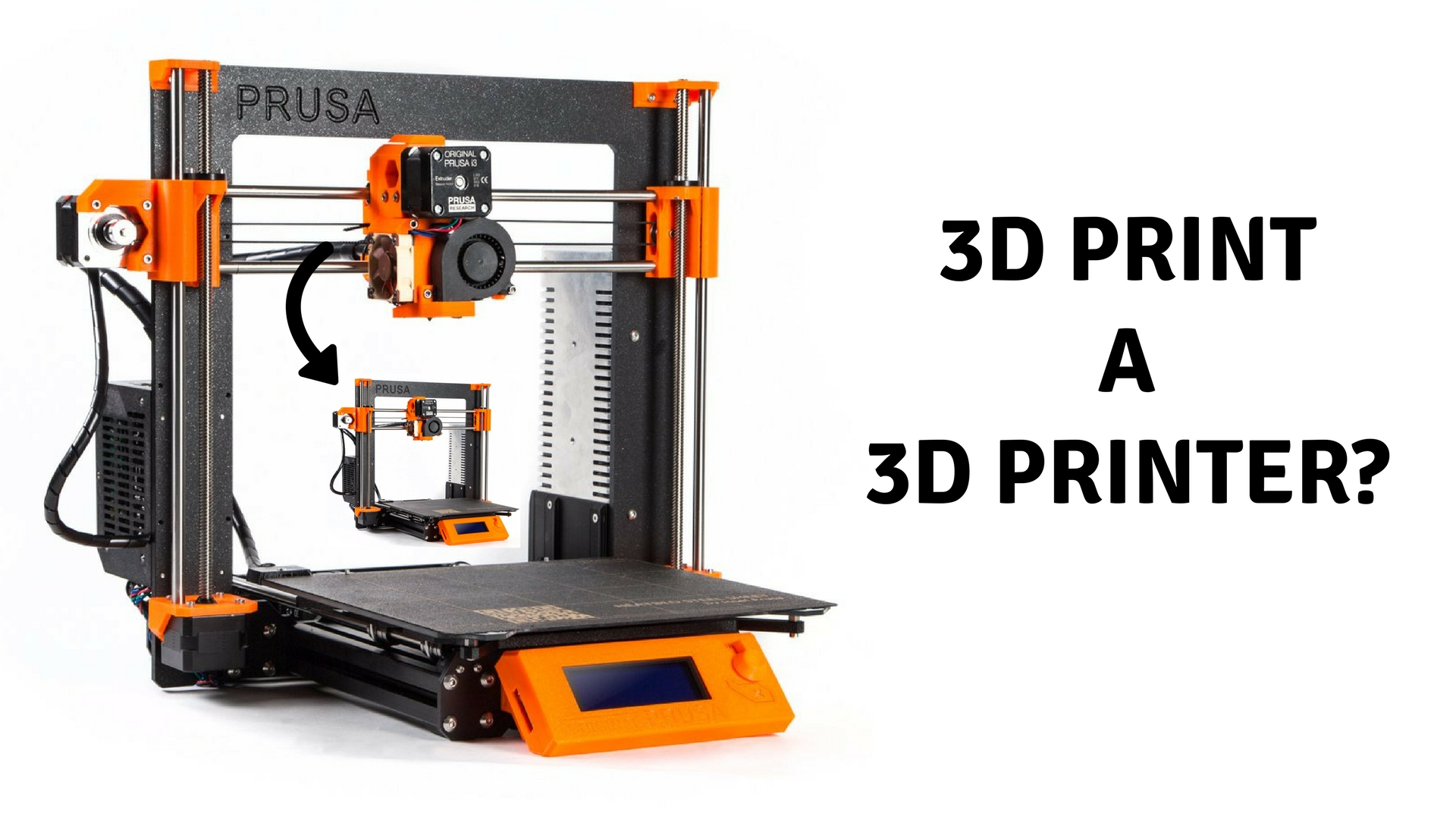 Can you 3D print a 3D printer? Its cool right!