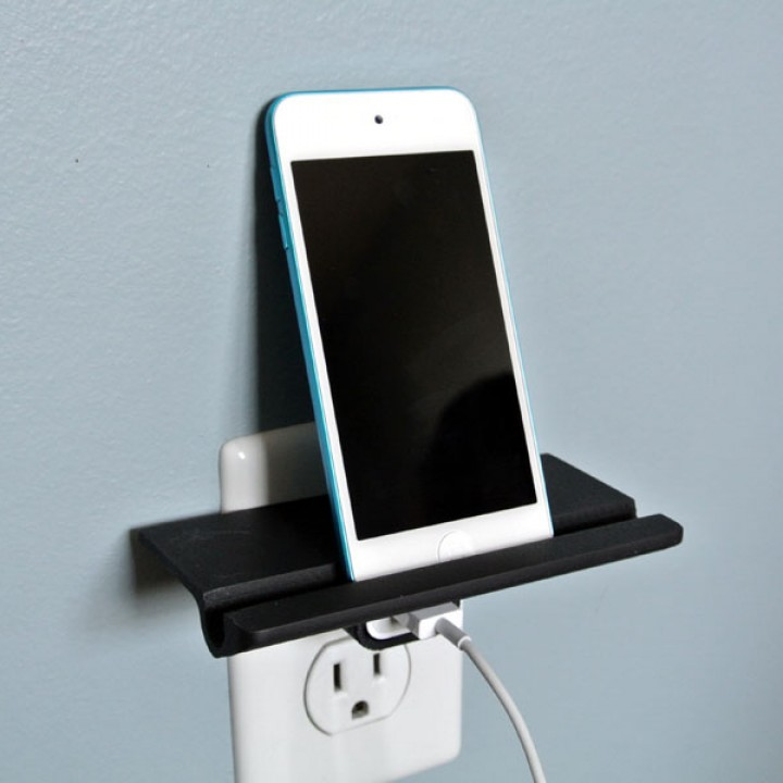 3D printed hack for mobile charging