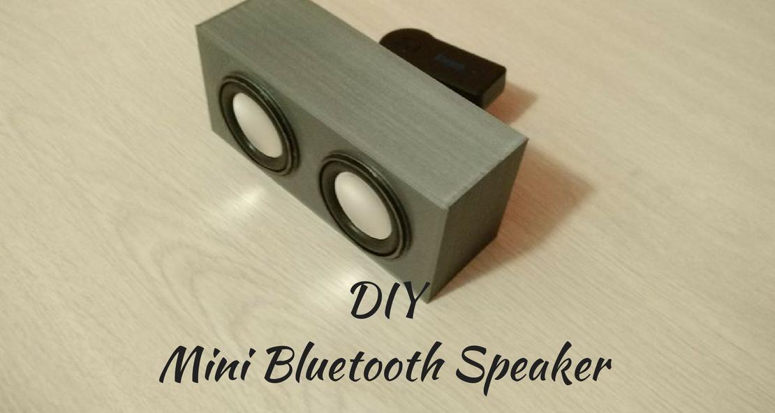 DIY: 3D Print your own Bluetooth Speaker