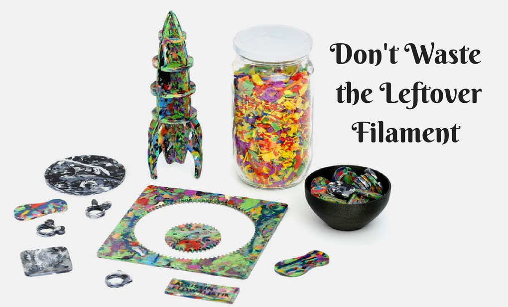 Recycling 3D filament- Waste Plastic