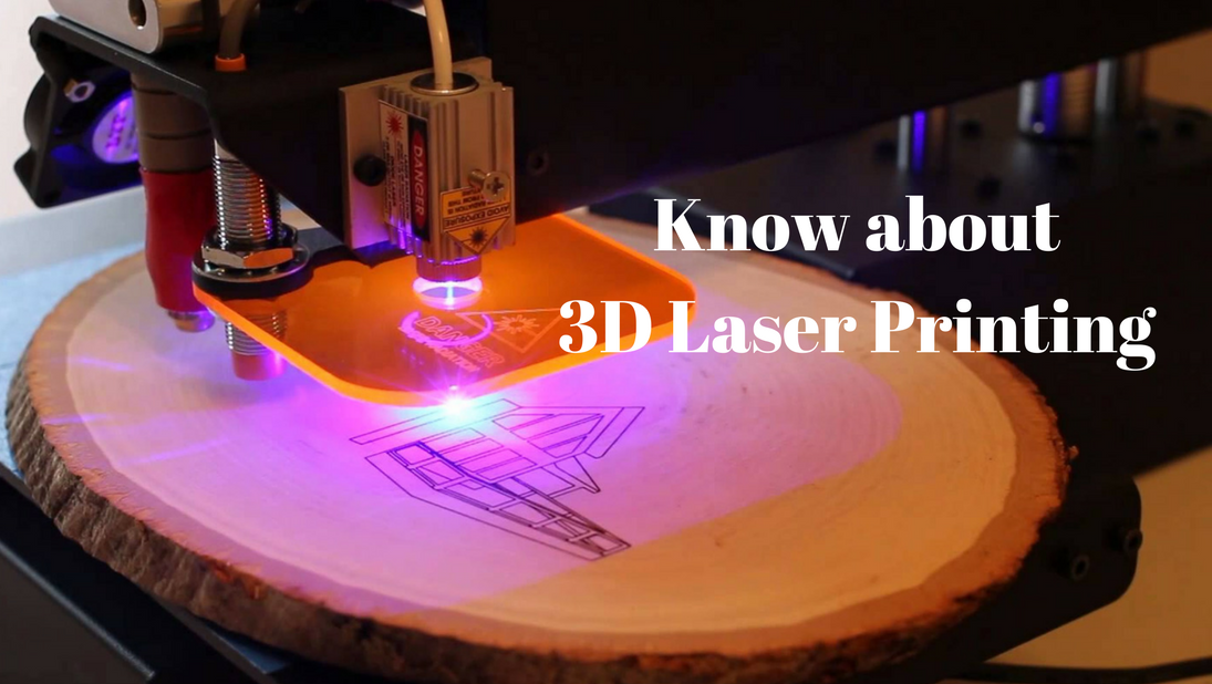 3D Laser Printing is different from what you think…