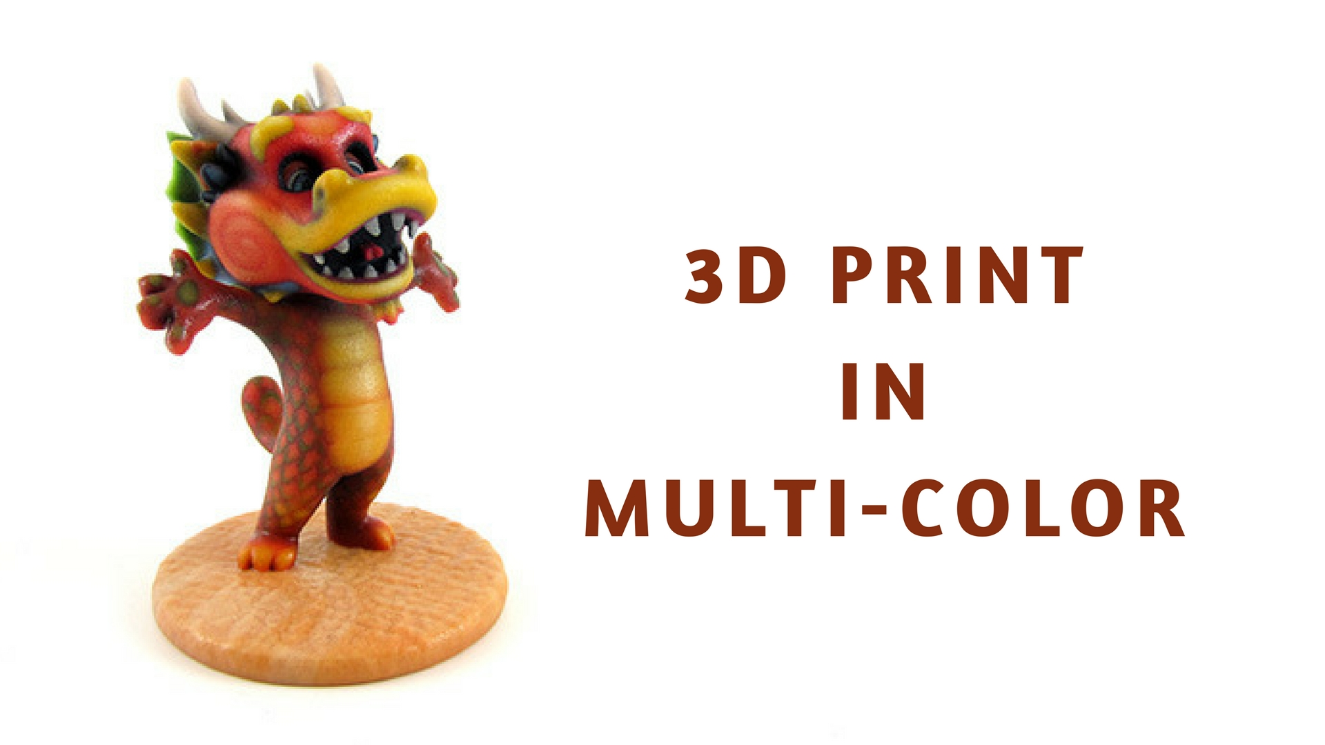 Now you can 3D print your models in multi-color!