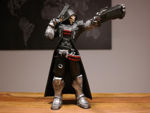 3D printed overwatch reaper