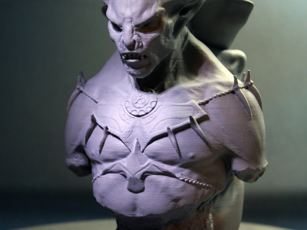 3D print vampire model