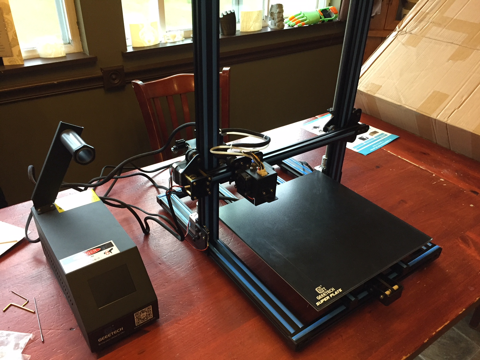 A30 3D Printer Unboxing and Initial Impressions.