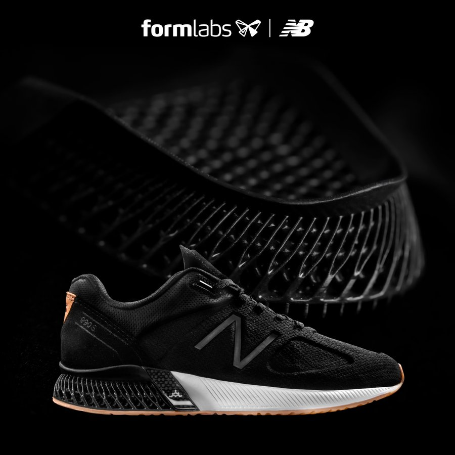 NEW BALANCE'S 3D-PRINTED SHOES