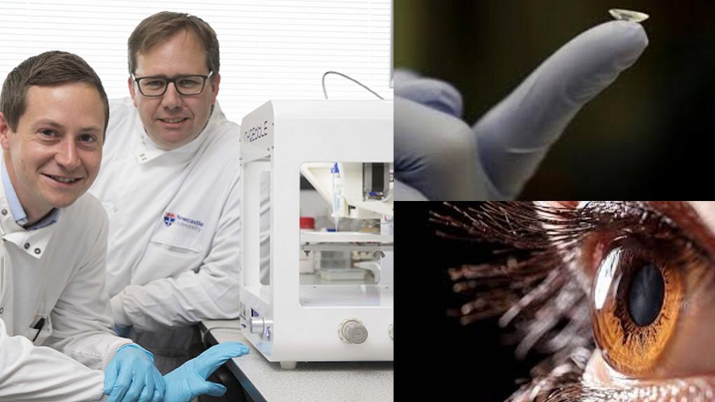 3D printed Bio-ink Human Cornea