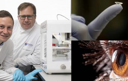 First 3D printed human cornea