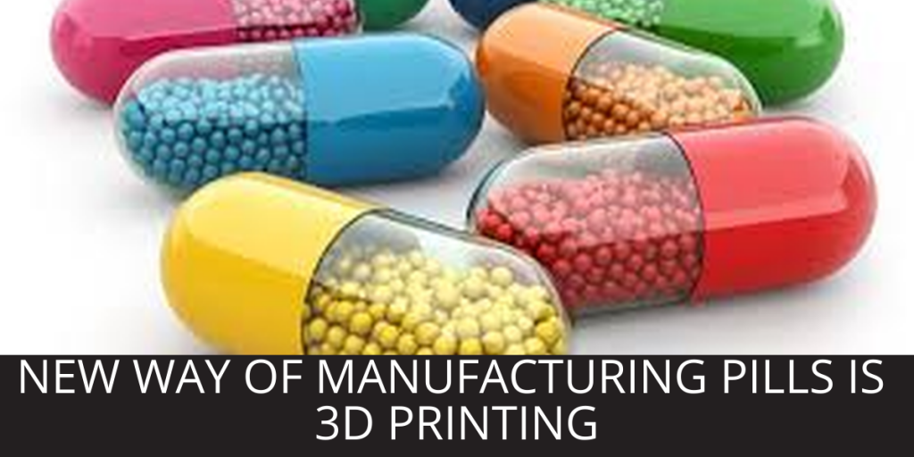 A Miracle Drugs – 3D Printing For Medication…