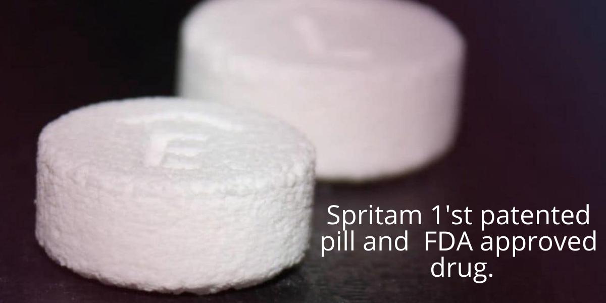 World's 1'st 3D drug