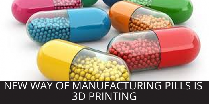 3D printed drugs