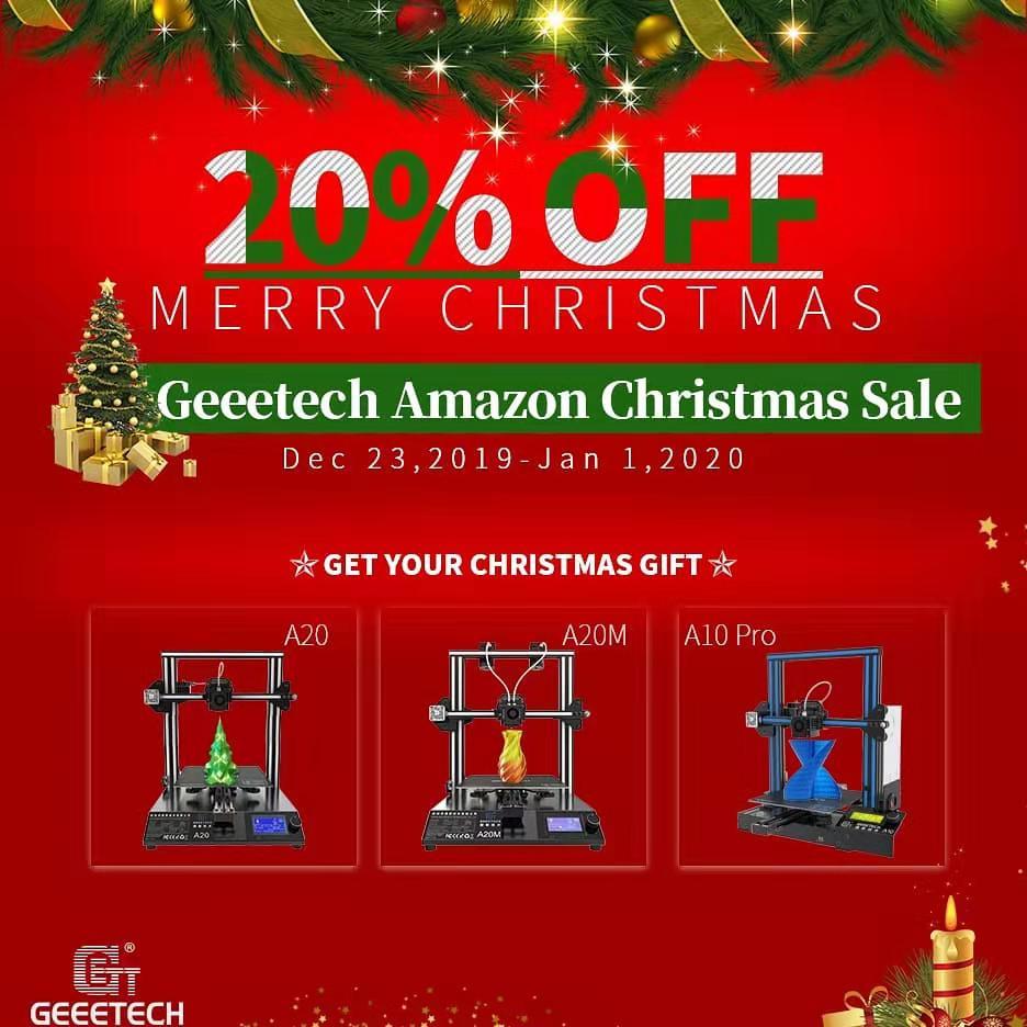 Geeetech Amazon Christmas Sale- upto 20% off