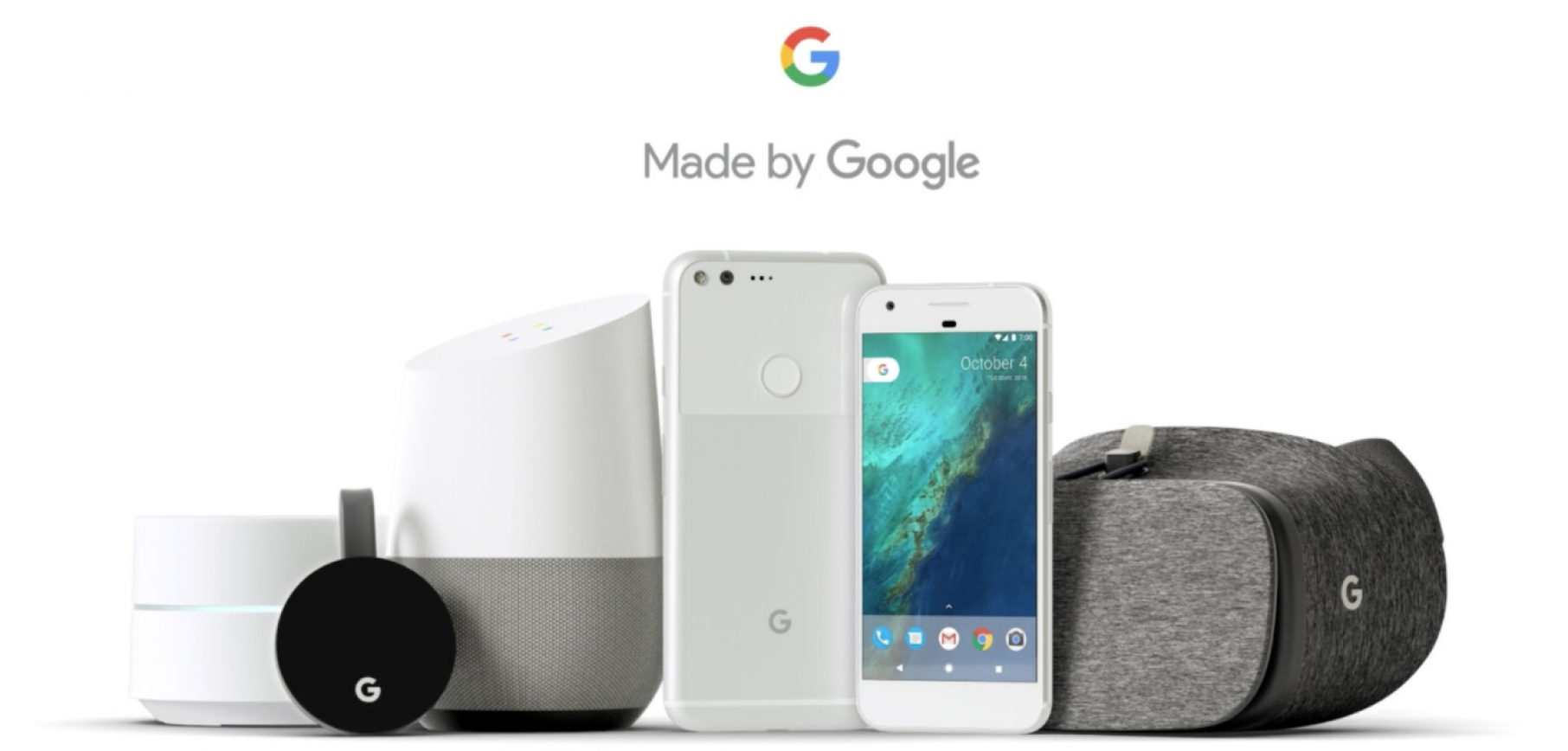 Artificial Intelligent products by google
