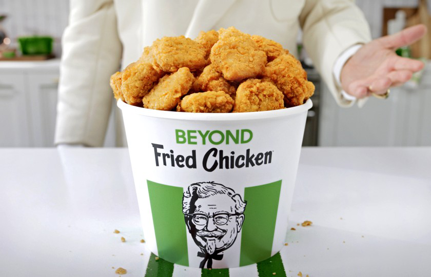 Chickens can walk out of KFC alive because 3D printed chicken nuggets are here