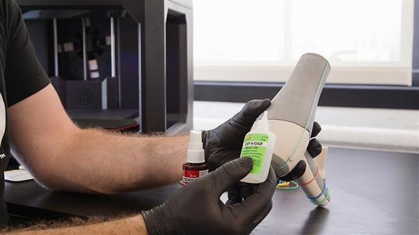3D printing post-processing