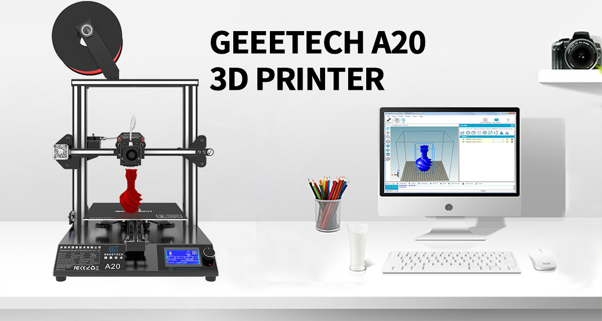 Save 50 GBP/EUR at Geeetech A20 3D Printer Savings Event!