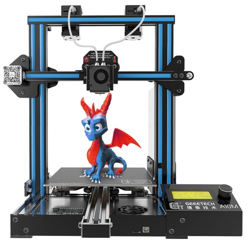 Introducing the New Geeetech A10M and debunking myths around dual extruder 3D printers.