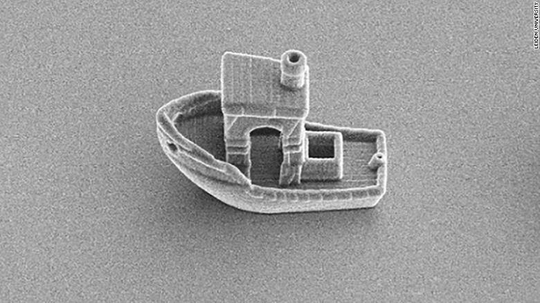 The Smallest 3D-Printed Boat You've Ever Seen
