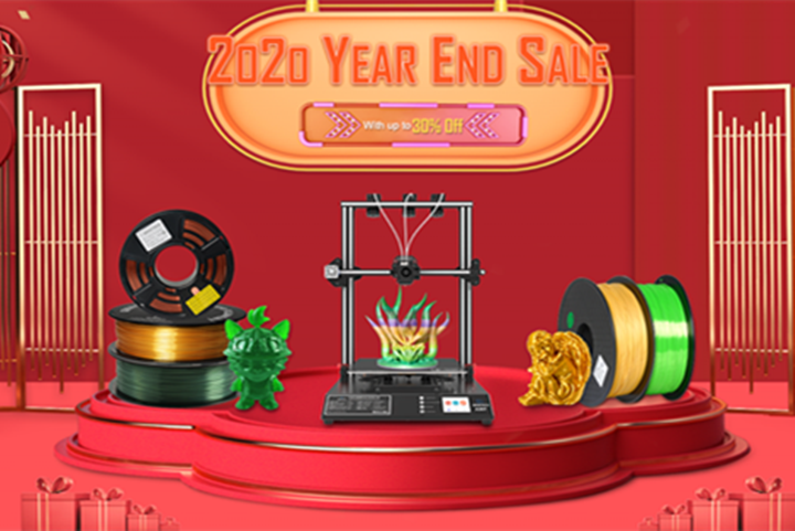 Geeetech 2020 Biggest Year-end Sale Ever