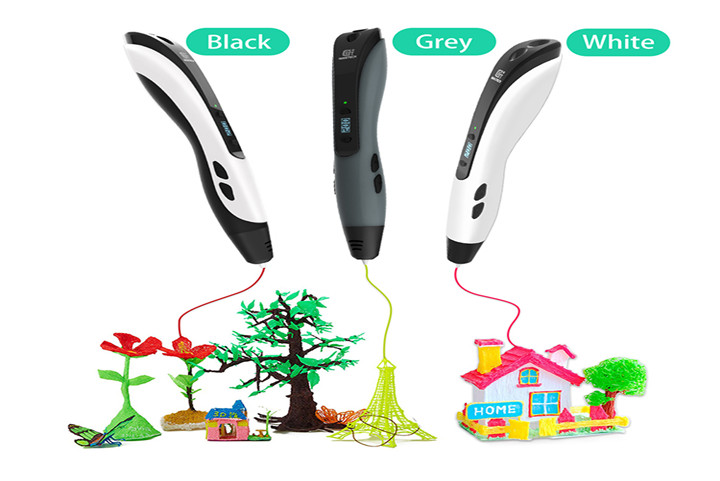 Meet the Latest Geeetech 3D Pen | This Handy TG-21 3D Pen Allows You to Liberate Your Imagination