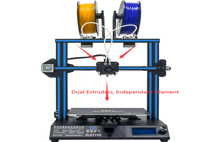 Important Things to Know About Multi-Extrusion 3D Printers | Printers with Dual Extruder (A20M)