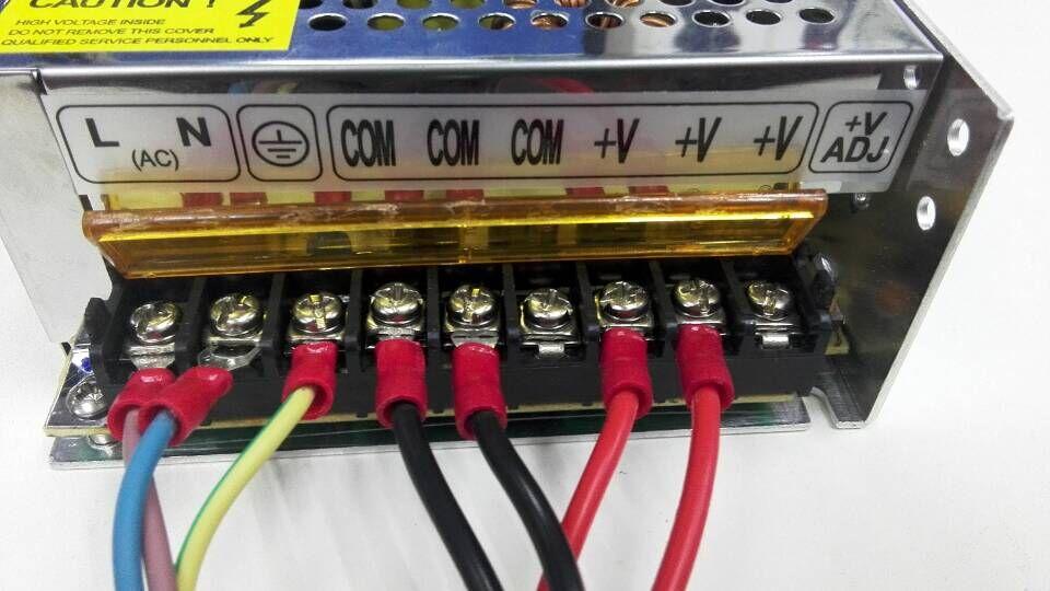 Power Supply Wiring - Geeetech