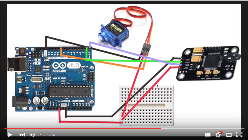 How to: Arduino Voice Recognition with Geeetech Module