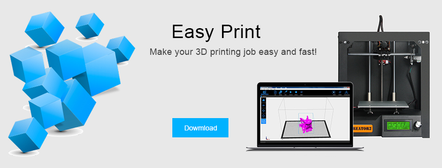 easy print 3d printing software