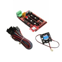 RAMPS 1.4 shield+SD RAMPS Reader Module+Cooler Fan+Cables/Wires
