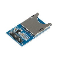 SD card reader module for memory read and write