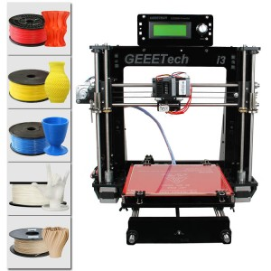 Acrylic Geeetech Prusa I3 pro B 3D Printer DIY kit